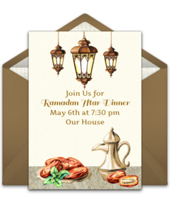 Free Islamic Online Invitations | Punchbowl