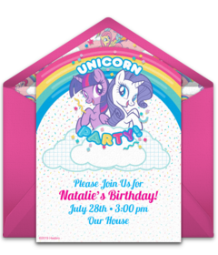graphic regarding My Little Pony Printable Invitations known as Cost-free My Very little Pony On line Invites Punchbowl