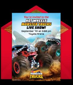 Free Hot Wheels Online Invitations Punchbowl