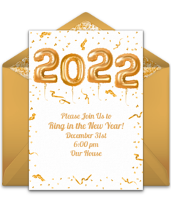 Free New Year S Eve Online Invitations Punchbowl