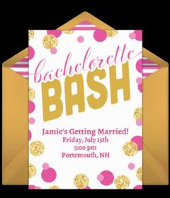Bachelorette Party Online Invitations
