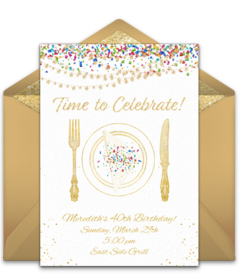 Free Dinner Party Online Invitations | Punchbowl