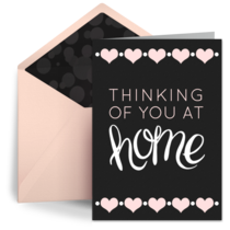 Thinking of You at Home card image