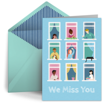 Miss You Neighbors card image