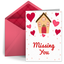 Missing You from Home card image