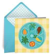 Passover Seder card image