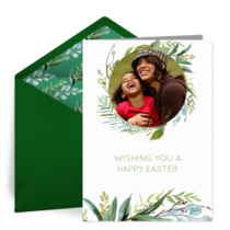 Easter Photo Frame card image