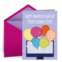 Virtual Admin Balloons  card image