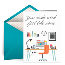 Work From Home card image