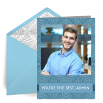 You're the Best, Admin card image