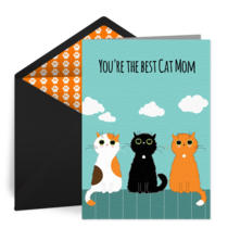 Cat Mom card image