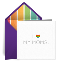 Gay Moms card image