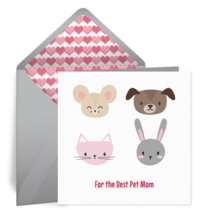 Pet Mom card image