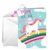 Unicorn Mom card image