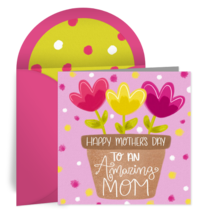 Mom Flowerpot card image