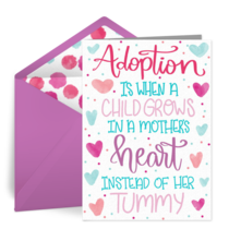 Adopted Mom card image