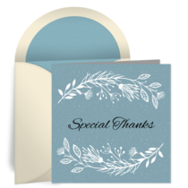 Special Thanks Teacher card image