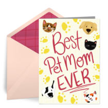 Best Pet Mom card image