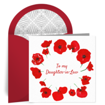 To My Daughter-in-Law card image