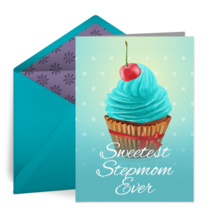 Sweetest Stepmom card image