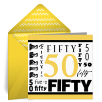 Wordy Fifty card image