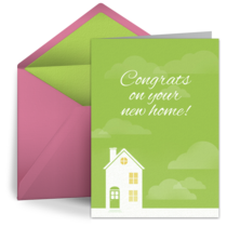 New House Congrats card image