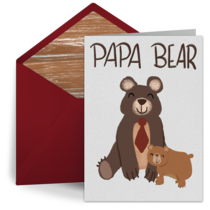 Papa Bear card image