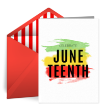 Juneteenth | Jun 19 card image