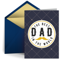 The Best Dad in the World card image