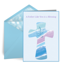 Blessed Father's Day card image