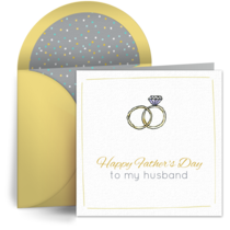 To My Husband card image