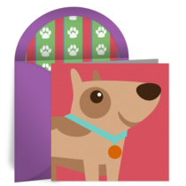 Happy Birthday Pup card image