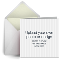 Upload Square - White card image
