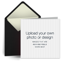 Upload Square - Black card image