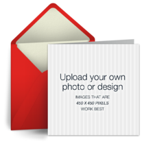 Upload Square - Red card image