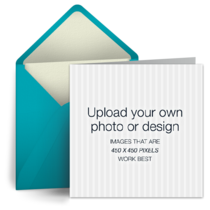 Upload Square - Teal card image