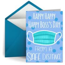 Boss's Day Mask card image
