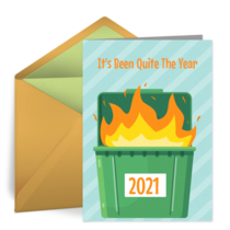 It's Been Quite The Year card image