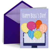 Virtual Boss Balloons card image