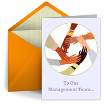 To Our Management Team card image