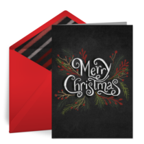 Merry Christmas (wash your hands) card image