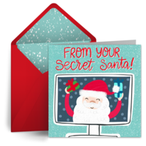 Virtual Secret Santa card image