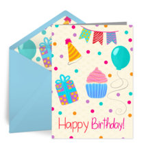 Happy Quarantine Birthday card image