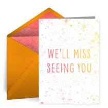 Miss Seeing You card image