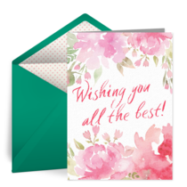 Wishing You All The Best! card image