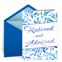 Retired & Admired card image