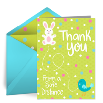 Thank You From A Safe Distance card image