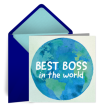 Best Boss in the World card image