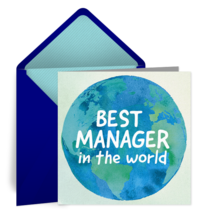 Best Manager in the World card image