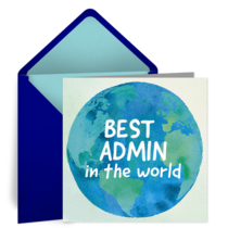 Best Admin in the World card image